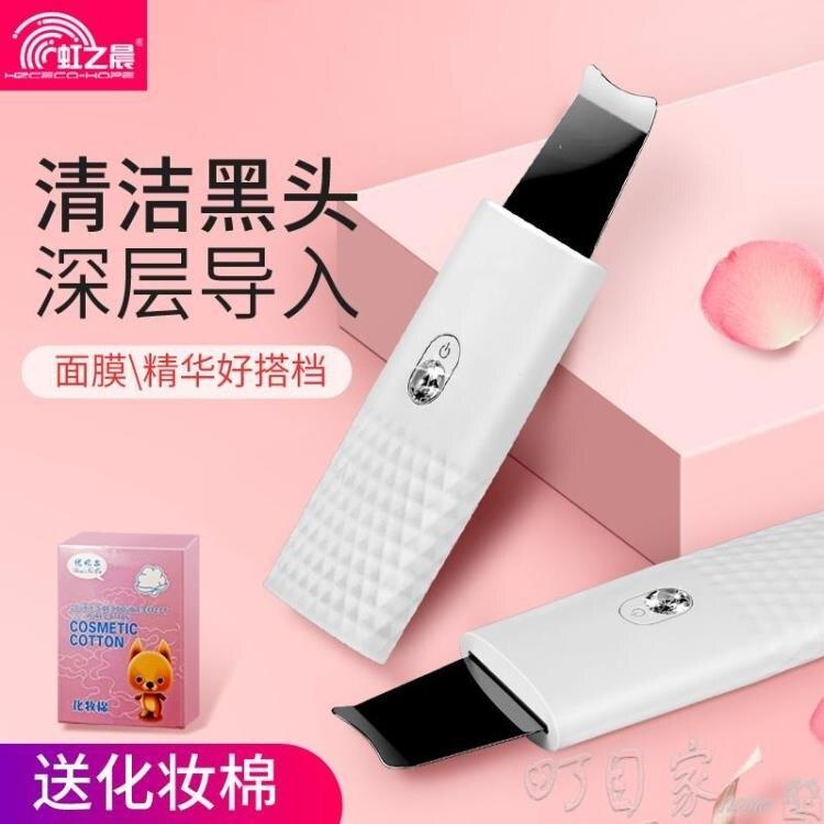 超聲波鏟皮機面部深層清潔臉部去黑頭角質油脂家用導入導出美容儀