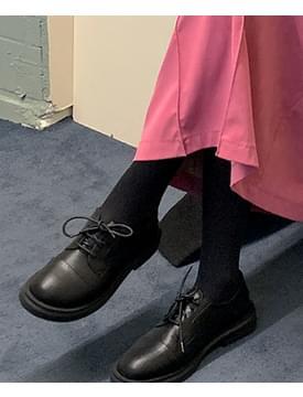 韓國空運 - Round Basic Derby Loafers 樂福鞋
