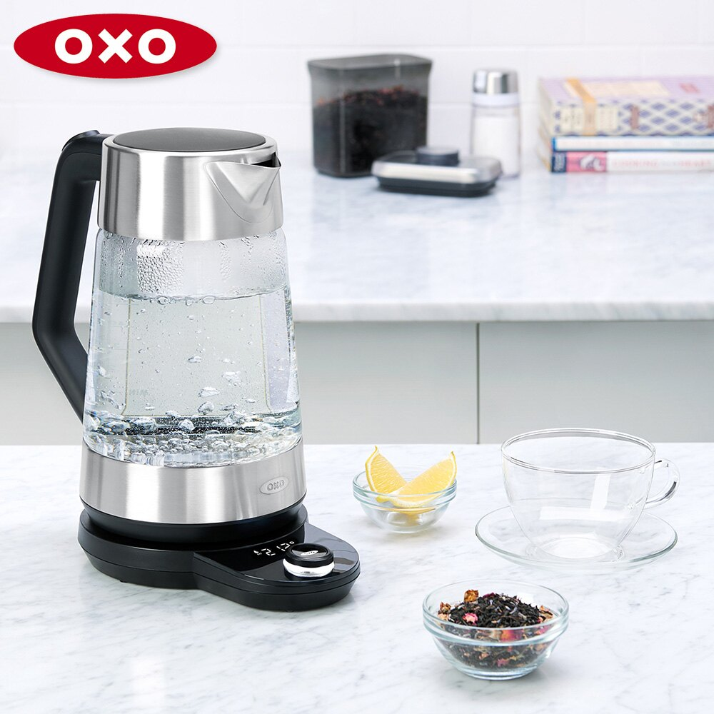 美國OXO 可調溫電茶壺 1.75L 010509