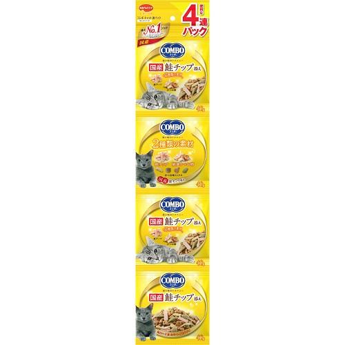 日本 COMBO 貓咪串包-(鮭魚)-160G