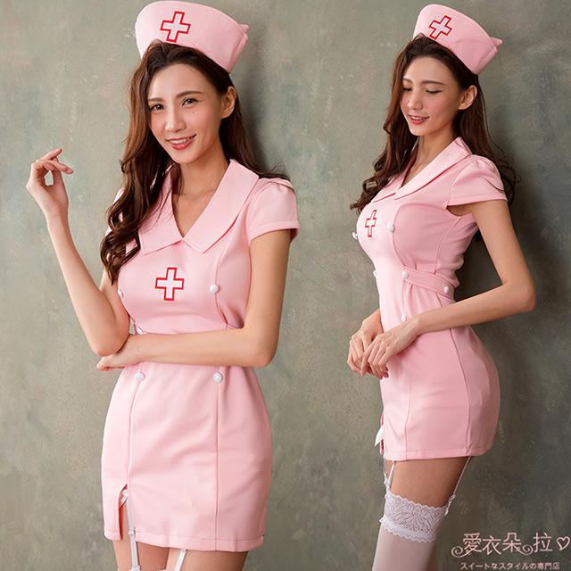 護士服 氣質經典小護士裝 角色扮演-愛衣朵拉C003