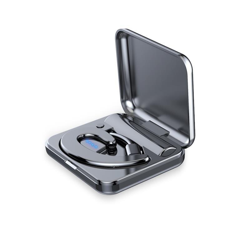 夏新S9不入耳藍芽耳機單耳隱形開車無線掛耳式耳麥運動骨傳導概念 雙12購物節