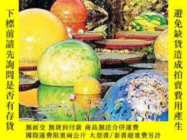 二手書博民逛書店Chihuly罕見Garden Installations Note Card Set-Chihuly Garde