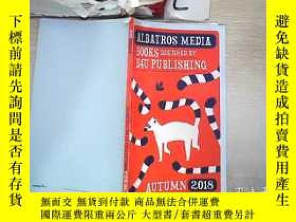 二手書博民逛書店ALBATROS罕見MEDIA BOOKS DESIGNED BY B4U PUBLISHING AUTUMN 2
