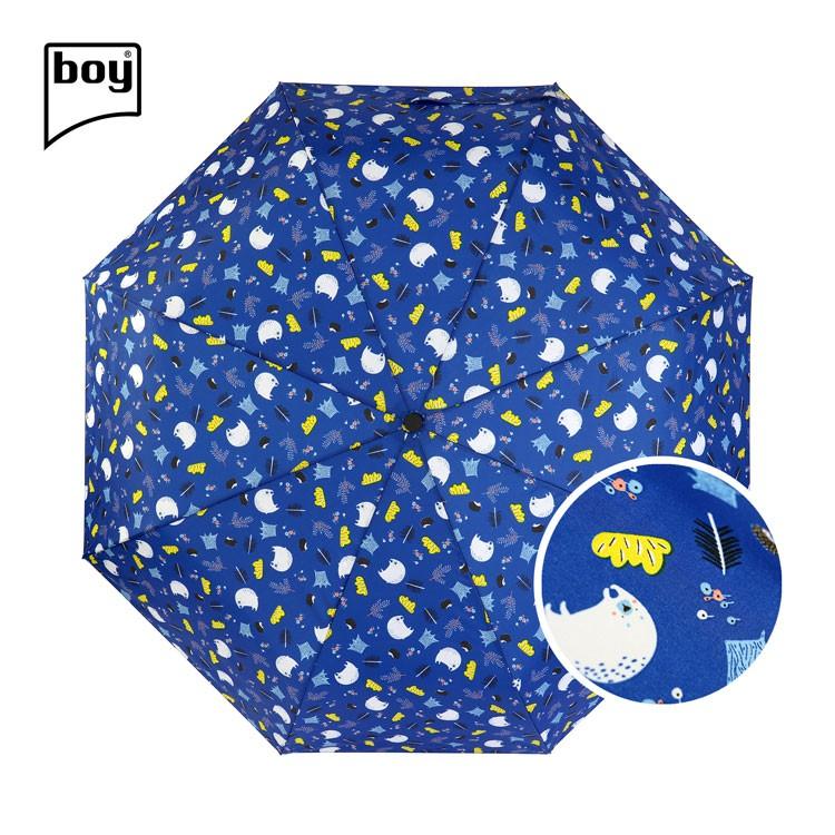 【德國boy】UPF45+大傘面都市印象傘_白熊之森