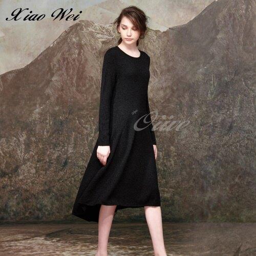【CHENG DA】秋冬專櫃精品女裝素雅極簡長袖洋裝NO.559155(9-13)
