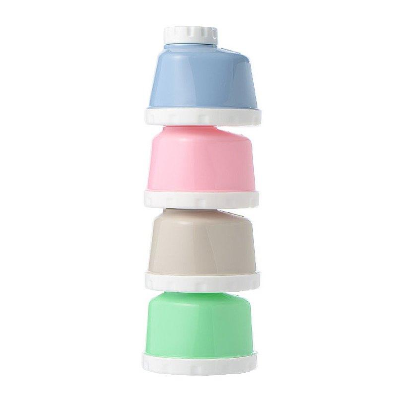【台灣farlin】3 in 1奶粉盒 分裝盒/副食品分裝/零食罐/糖果罐