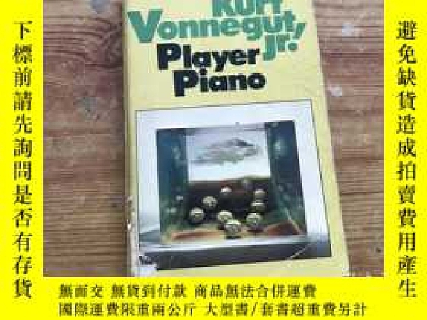 二手書博民逛書店PLAYER罕見PIANO( D43)Y266787 Kurt Vonnegut DELL