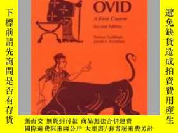 二手書博民逛書店Latin罕見Via Ovid: A First CourseY32455 Norma Goldman 著