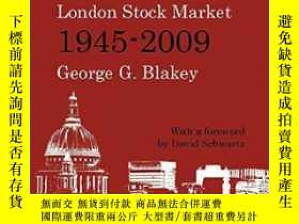 二手書博民逛書店A罕見History Of The London Stock Market 1945-2009Y364682