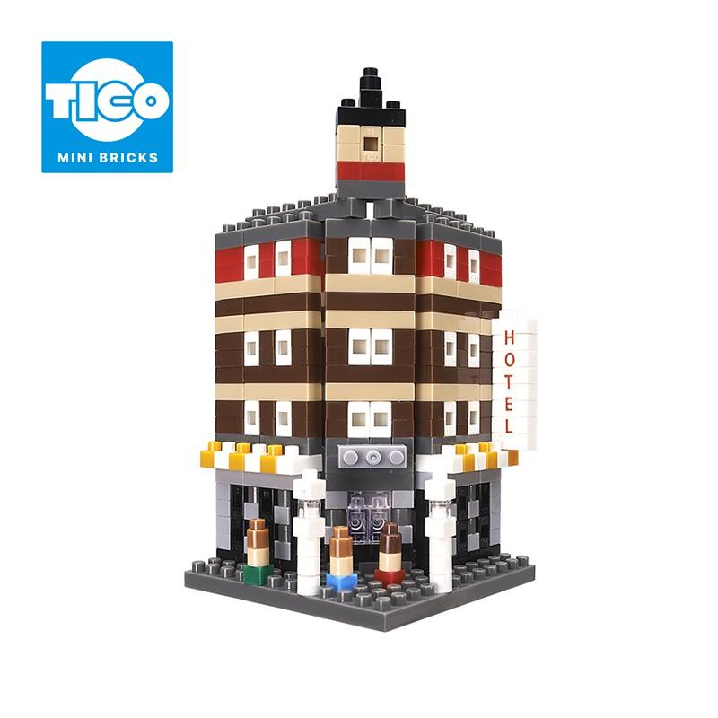 TICO微型積木 經典建築系列 飯店(T-1122)