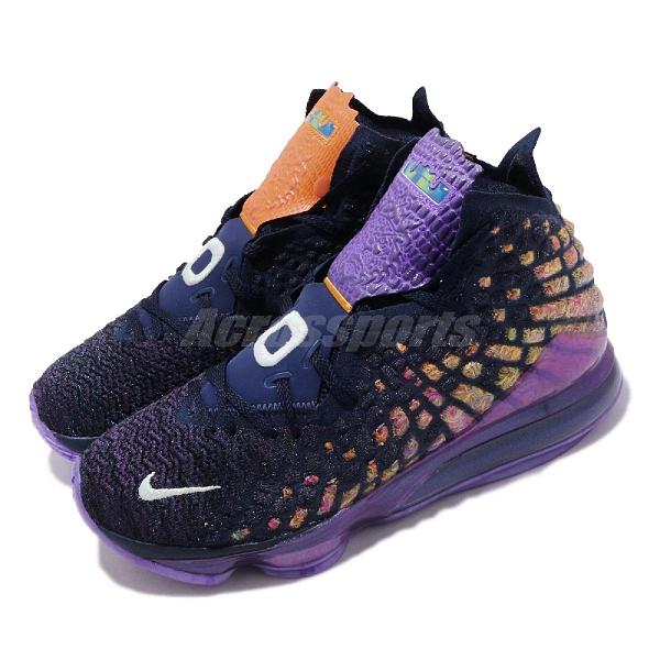 Nike 籃球鞋 LeBron XVII AS EP 17 Monstars 紫 金 男鞋 怪物奇兵 詹皇 氣墊 【ACS】 CD5051-400