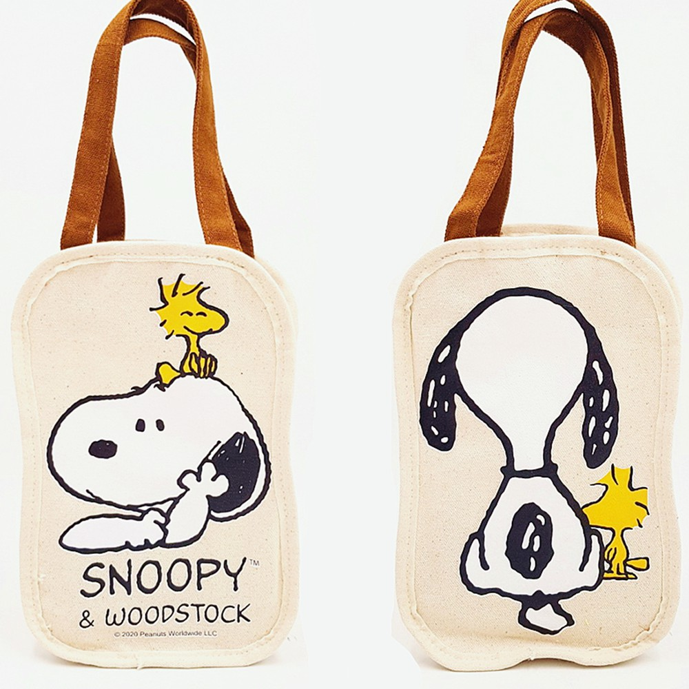 Snoopy 史努比 帆布餐具袋