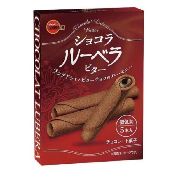 北日本Lubera巧克力風味捲心餅【康是美】