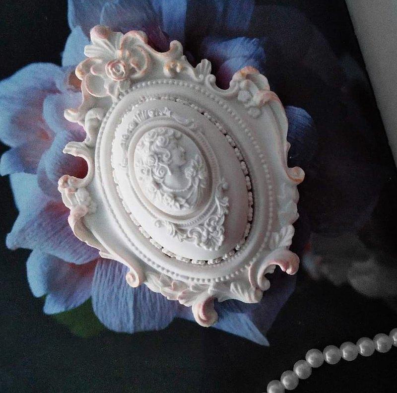 古典女神歐式鏡框擴香石