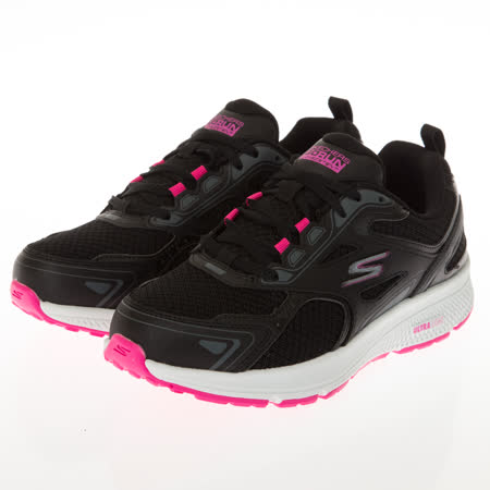 SKECHERS 女 慢跑系列 GORUN CONSISTENT 寬楦款-128075WBKPK