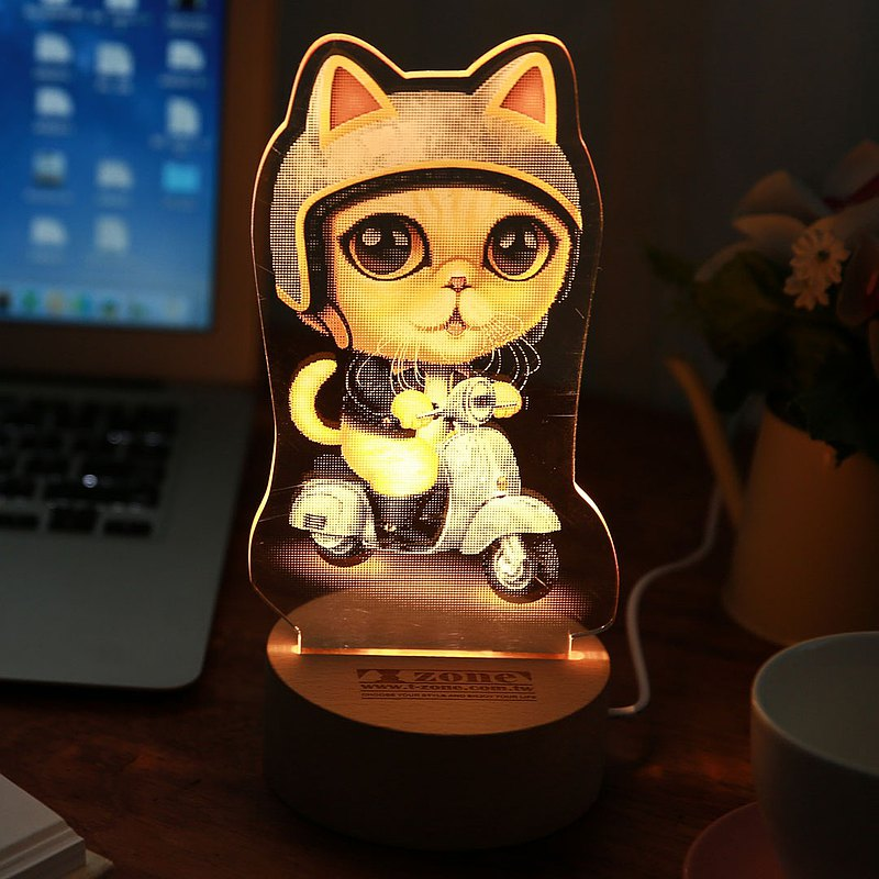 Garfield Cat / 加菲貓 / led燈
