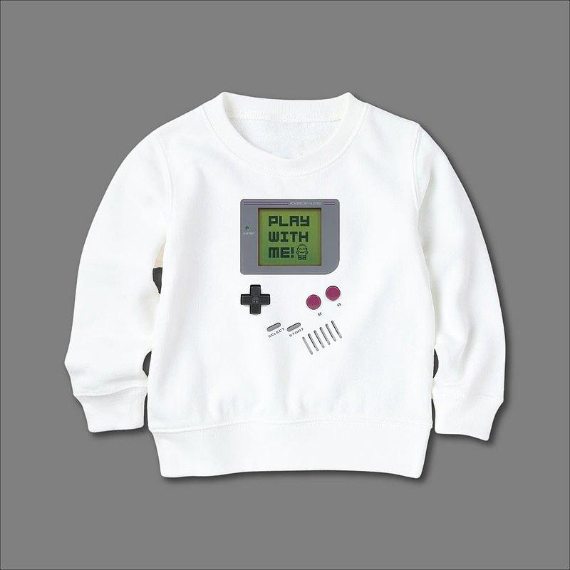 GameBaby 毛圈休閒長袖上衣 大學T 小孩款 童裝 交換禮物