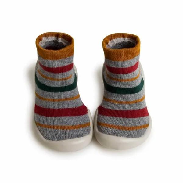 法國 Collegien 手工襪鞋 學院風條紋 (20-25)【麗兒采家】