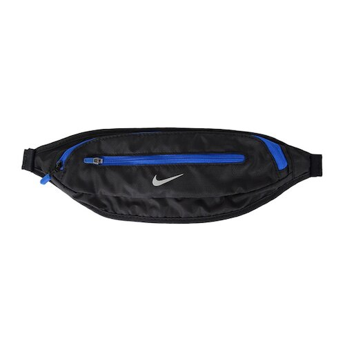 Nike Waistpack [N0001365028OS] 腰包 擴充式 薄型運動 登山 跑步 越野 反光 黑