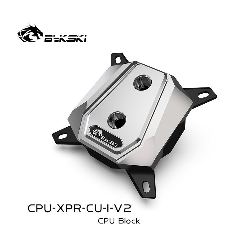 Bykski CPU-XPR-CU-I-V2 全金屬 CPU水冷頭 英特爾1151 115x2011