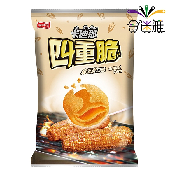 卡迪那四重脆-烤玉米40g(12包/箱) 【合迷雅好物超級商城】