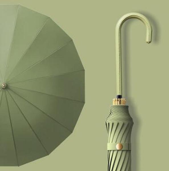 遮陽傘 女晴雨兩用加大號加固加厚長柄黑膠森系s太陽傘遮陽防曬TW【快速出貨好康八折】