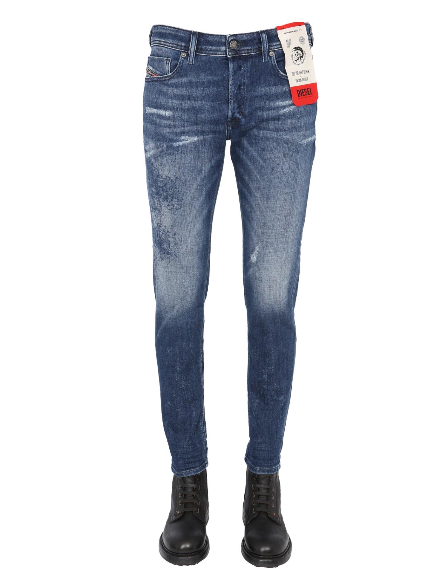 """diesel """"sleenker-x l.30"""" jeans"""