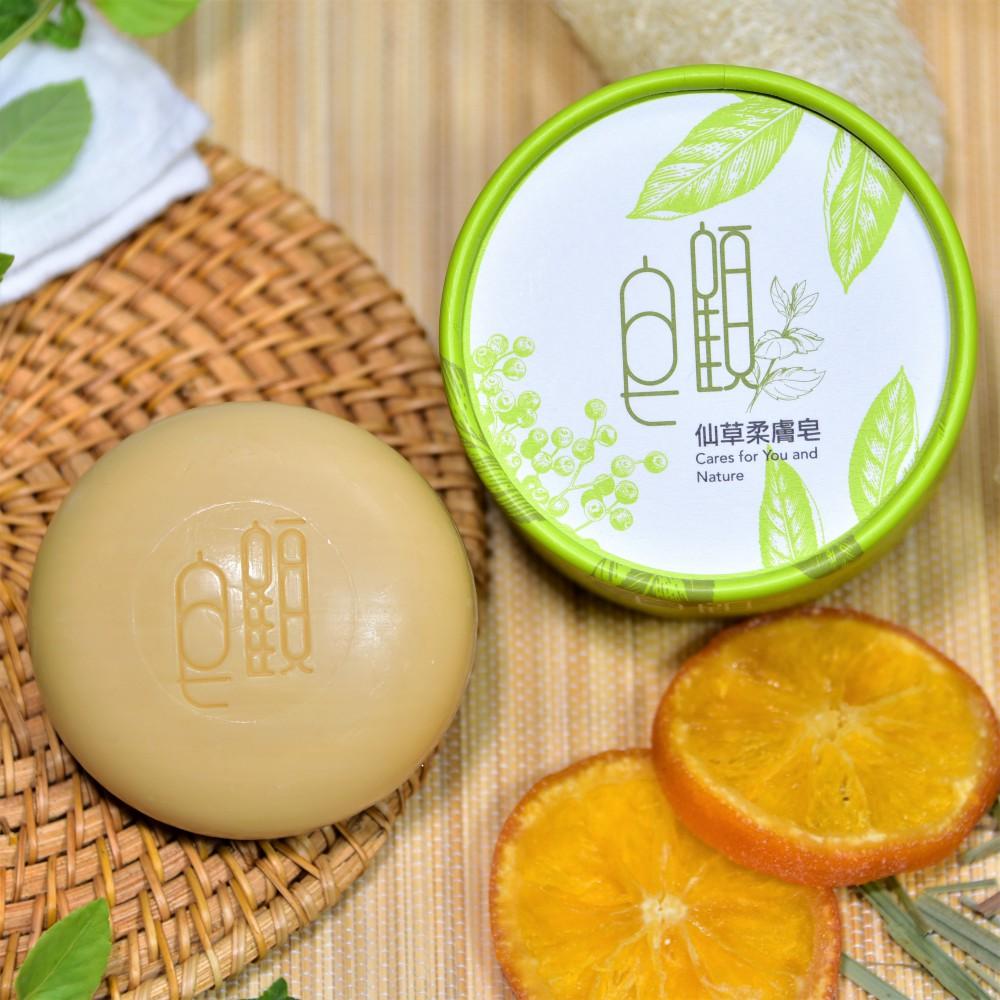 皂顧 仙草柔膚皂 (二入)