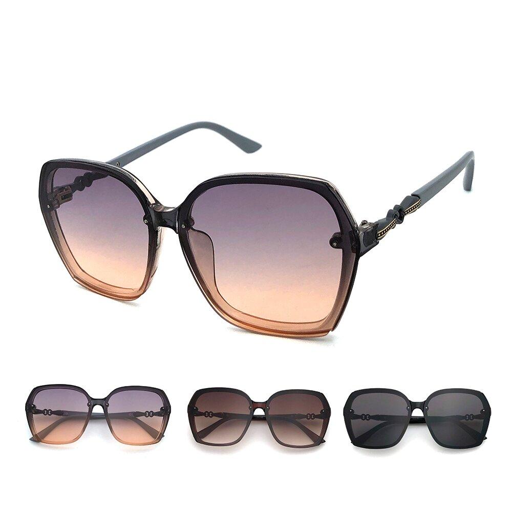 韓版系列太陽眼鏡 時尚大框墨鏡 抗UV(33898)