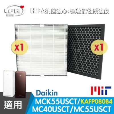 LFH HEPA抗菌+顆粒活性碳清淨機濾網 適用:DAIKIN大金 MC40USCT/MCK55USCT