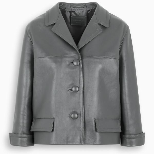 Prada Gray single-breasted jacket