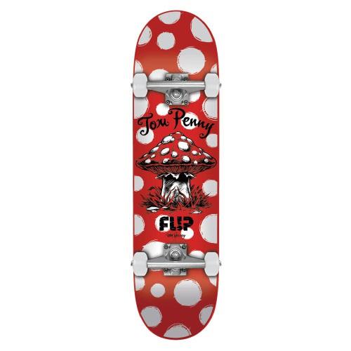 "Flip Penny Dots Red 8.13"" 整組板/滑板《Jimi Skate Shop》"