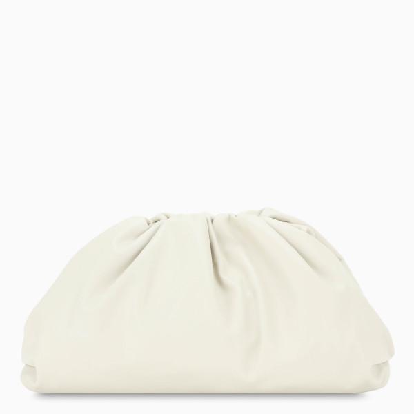 Bottega Veneta White The Pouch bag