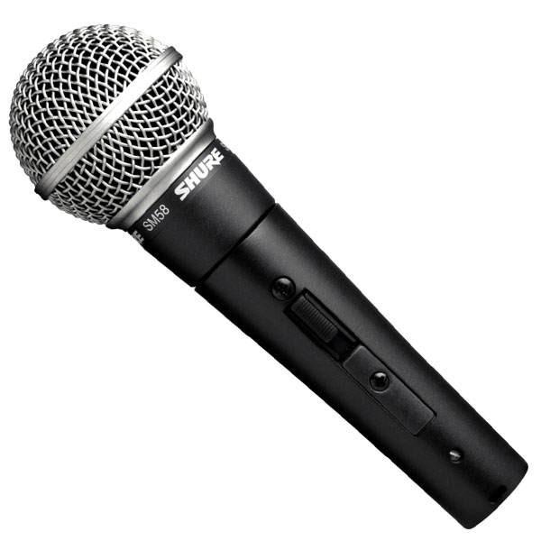 Shure SM58S 傳奇經典人聲麥克風 永遠不敗的聲音 磁性魅力音色 全新代理商公司貨 非水貨【民風樂府】