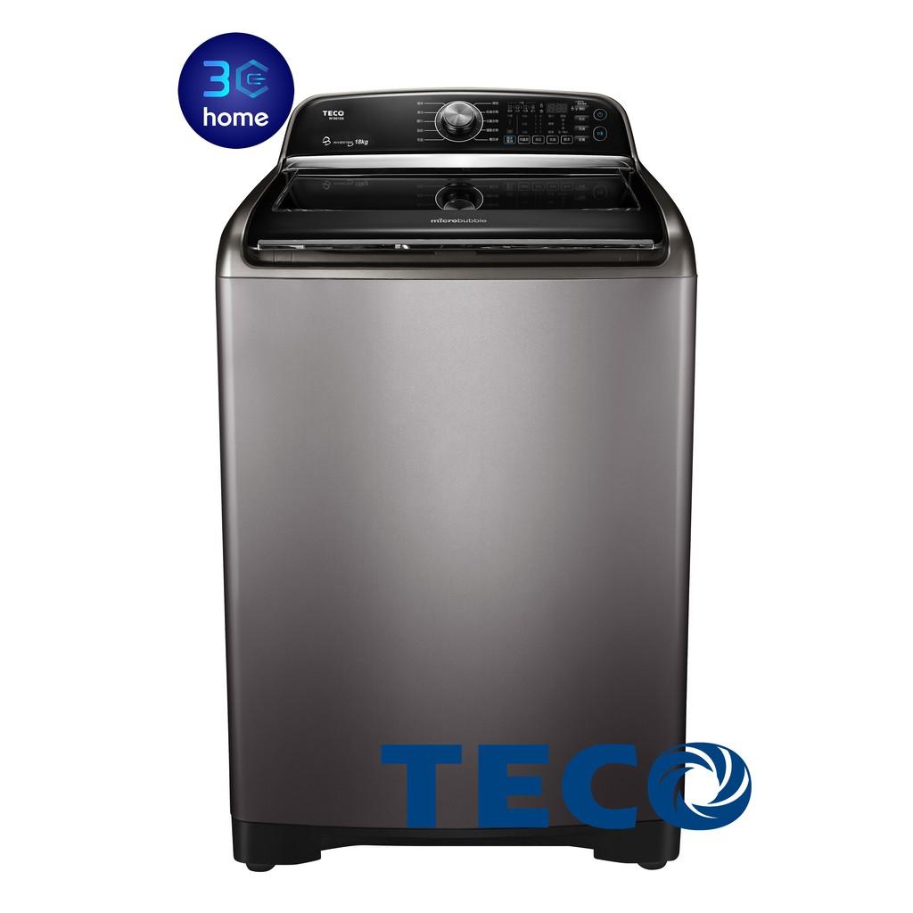 東元TECO DD直驅變頻洗衣機 18/19公斤 W1801XS / W1901XS