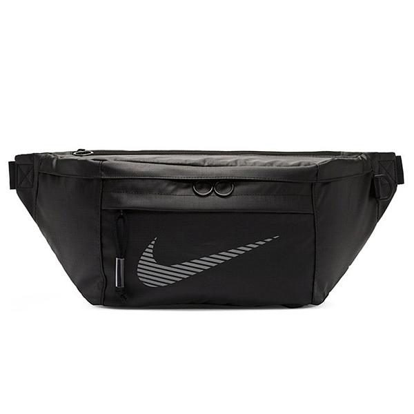 Nike Tech Hip Pack 腰包 側背包 休閒 大勾勾 拉鍊前袋 黑【運動世界】DB4697-010