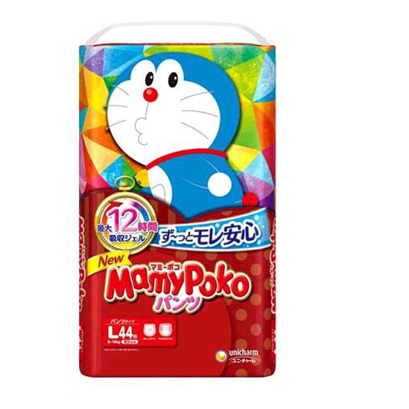 滿意寶寶輕巧褲哆啦A夢版 L號 132片 - 日本境內版 W226086