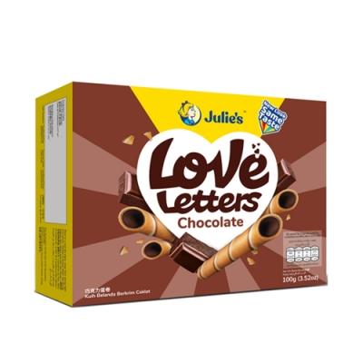 Julies茱蒂絲 蛋捲-巧克力風味(100g)