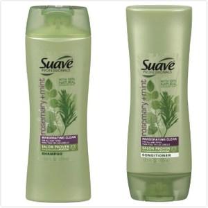 美國 SUAVE【迷迭香薄荷】絲滑洗髮乳/潤髮乳(373ml)*6
