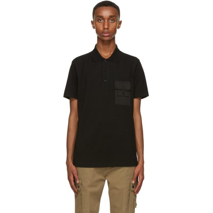 Diesel 黑色 T-Task Polo 衫