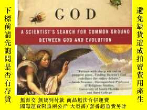 二手書博民逛書店Finding罕見Darwin s GodY364682 Kenneth R. Miller Harper P