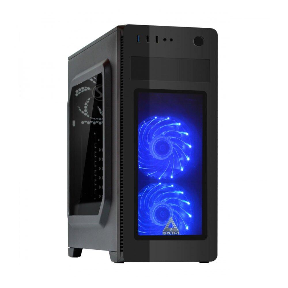 華碩B460平台【白石獵豹】I3四核 GT1030-2G獨顯電玩機(I3-10100F/8G/2TB/GT1030-2G)