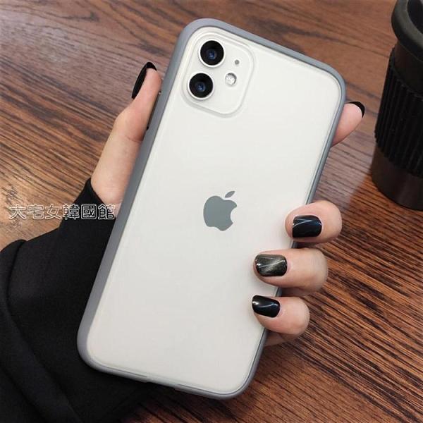 蘋果12手機殼蘋果12手機殼XR硅膠iphoneX磨砂11PROMAX透明XSMAX防摔78pluse2快速出貨