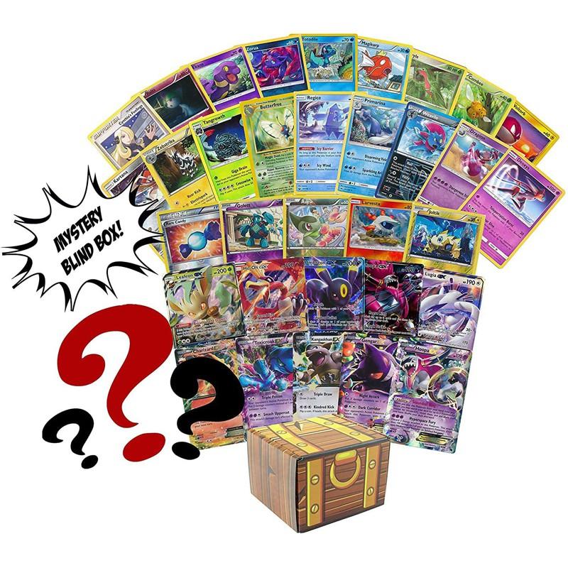 Pokemon 50ct Blind Box - Rares - Foils - Holos - GX - EX - C
