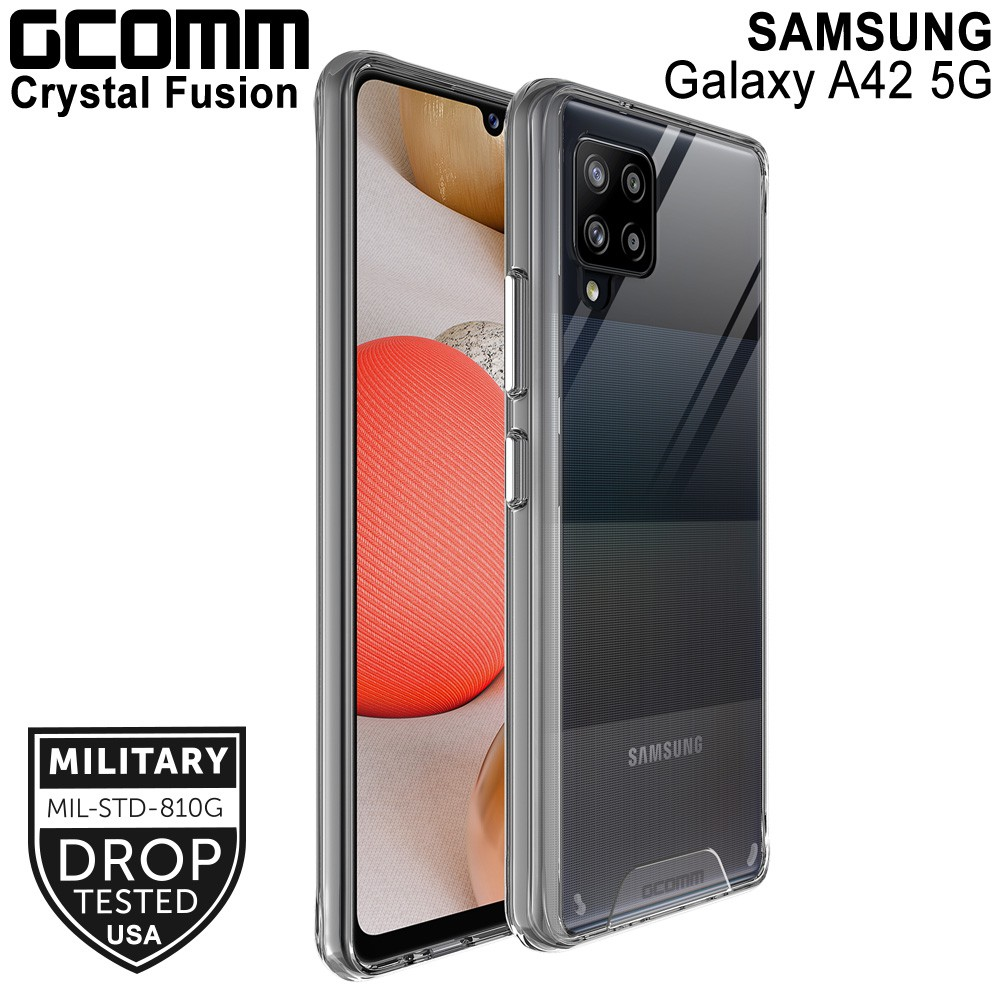 GCOMM Galaxy A42 5G 晶透軍規防摔殼 Crystal Fusion
