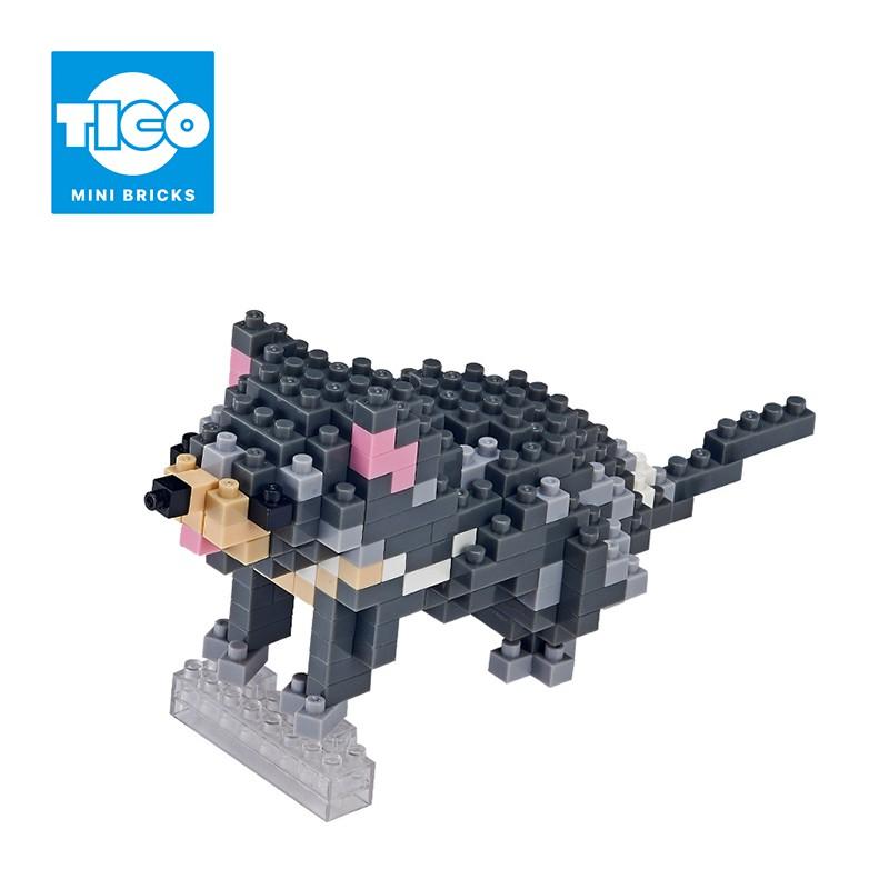 TICO微型積木 澳洲動物系列 袋獾(T-9309)