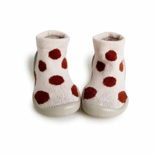法國 Collegien 手工襪鞋 暖暖點點-羊絨款(20-25)【麗兒采家】