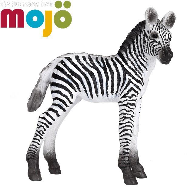 Mojo Fun動物模型-小斑馬NEW