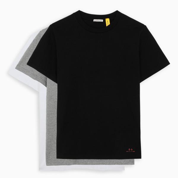 6 Moncler 1017 A L Y X 9SM Cotton t-shirt - 3 pack